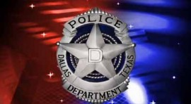 Dallas police logo with badge