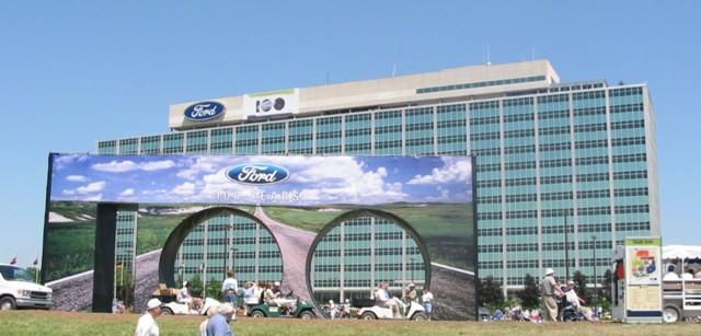Ford Motor Company Dearborn Detroit Michigan Ford
