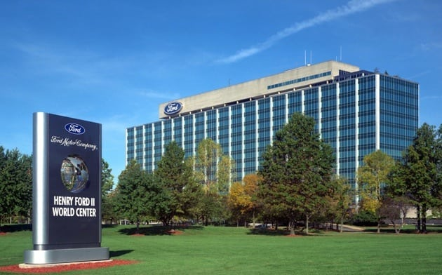 Ford motor company central head office eagle way warley for Ford motor company in dearborn michigan