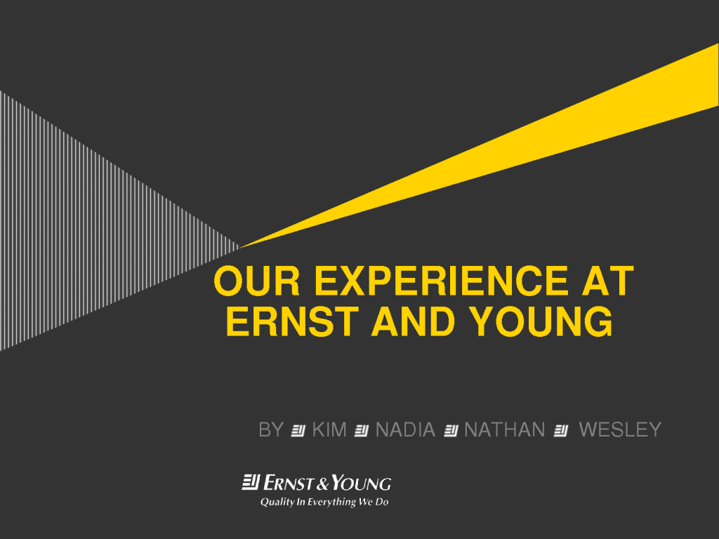 ernst and young washington dc