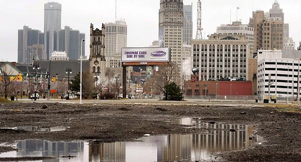 Detroit Urban Decay Regeneration National Security ...