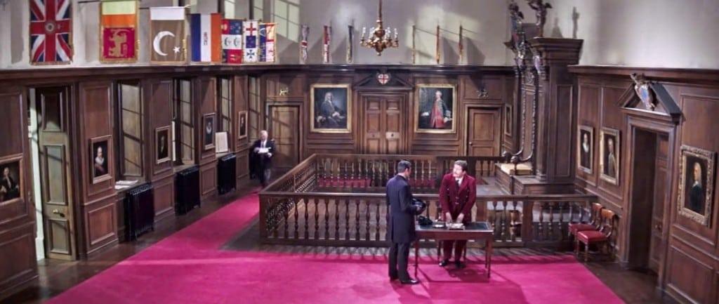 arms college london royal hall entrance king secret service principal garter records court thomas bond james duke princess famous majesty