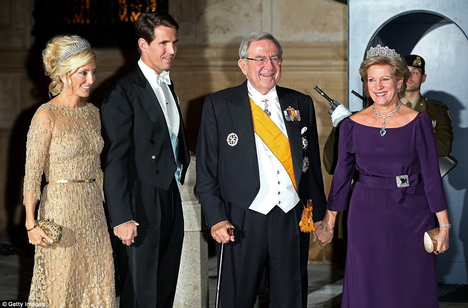 The Greek Royal Family Hm Constantine Ii Prince Of